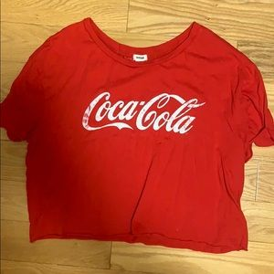 cola cropped tee